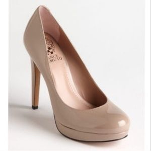 Vince Camuto Nude Pumps Size 9